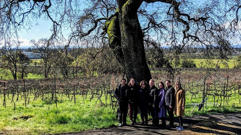 the Ancient Oak Cellars + 1776 family