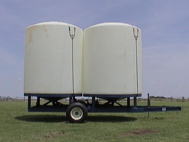 "Dual Cone Bottom Trailer - 2-3000 Gallon Cone Bottom Tanks, 3-Year Warranty, Hydraulic Lift/Lights, Safety Chains/3"" Plumb with 2"" Adapter$6,633 PR$7,099 HD"