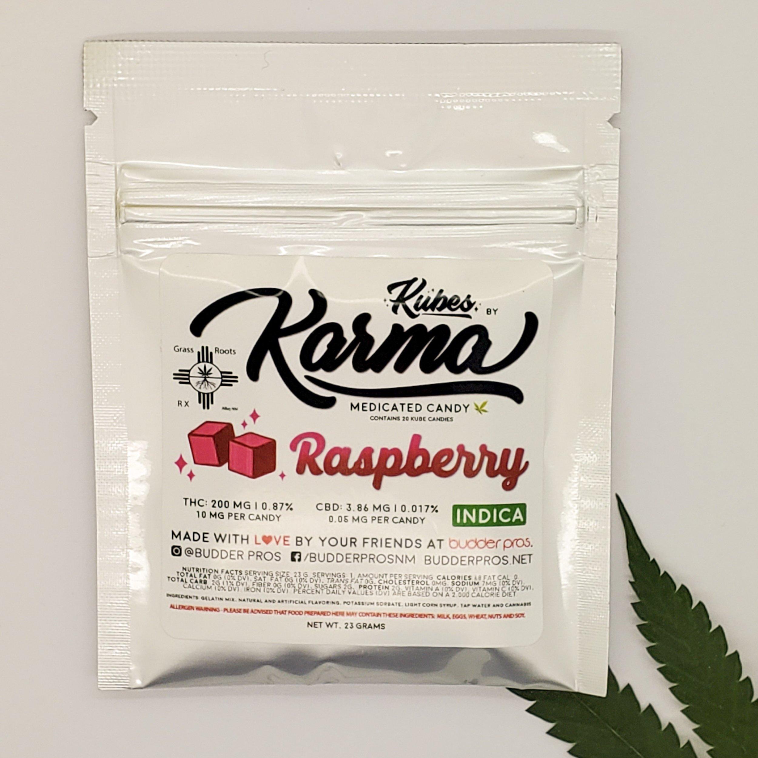 Karma Kubes 200 mg - Indica