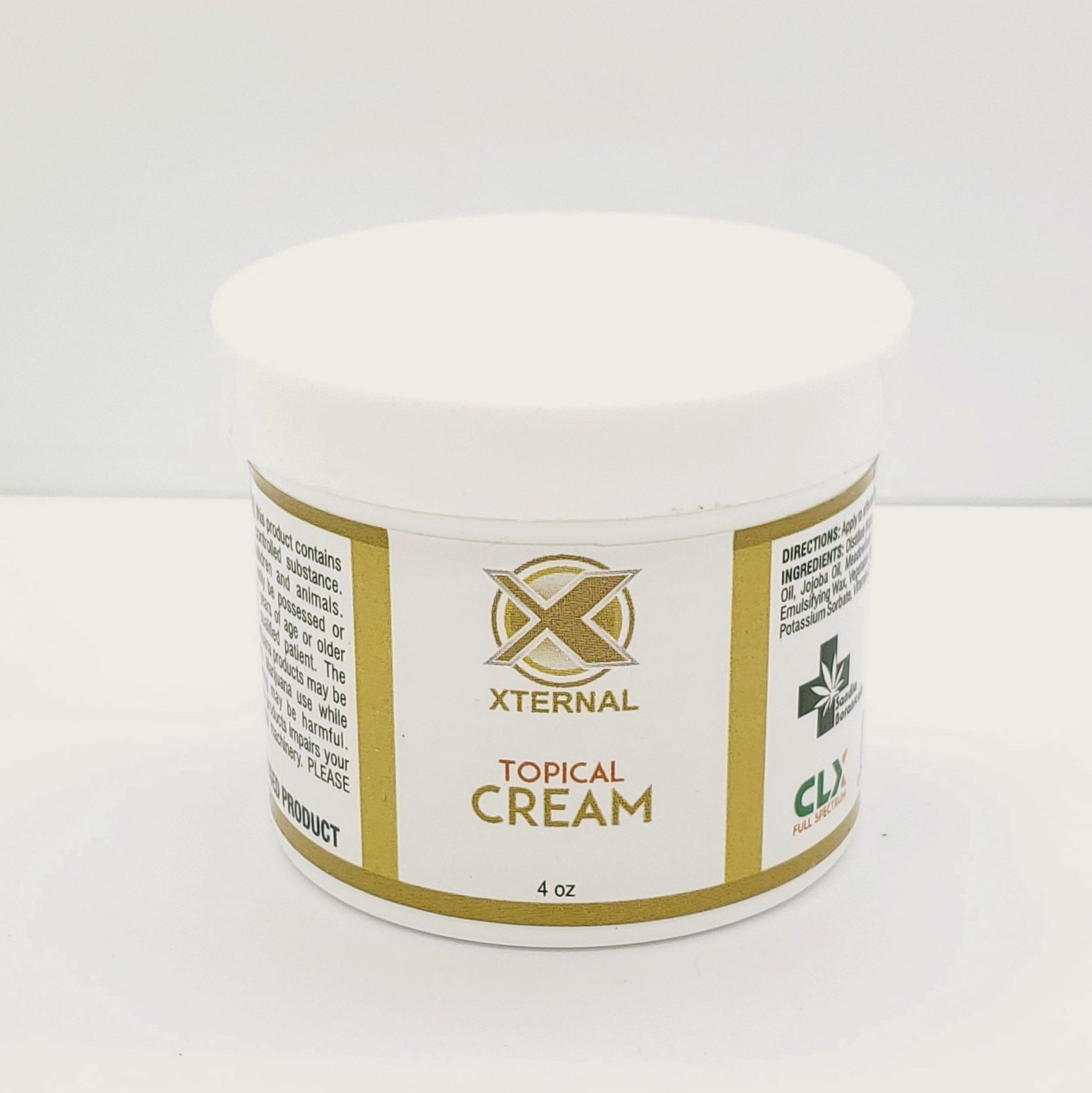 Xternal Cream 4oz