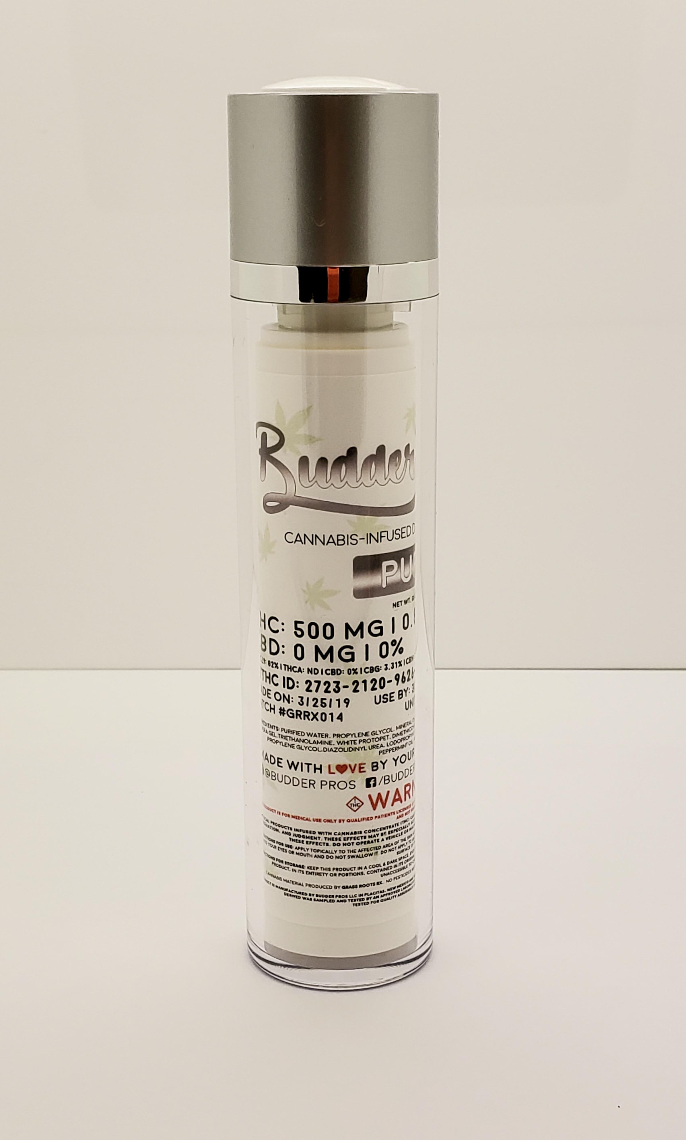 Budder Pros Budder Bliss  - 500 mg - PURE