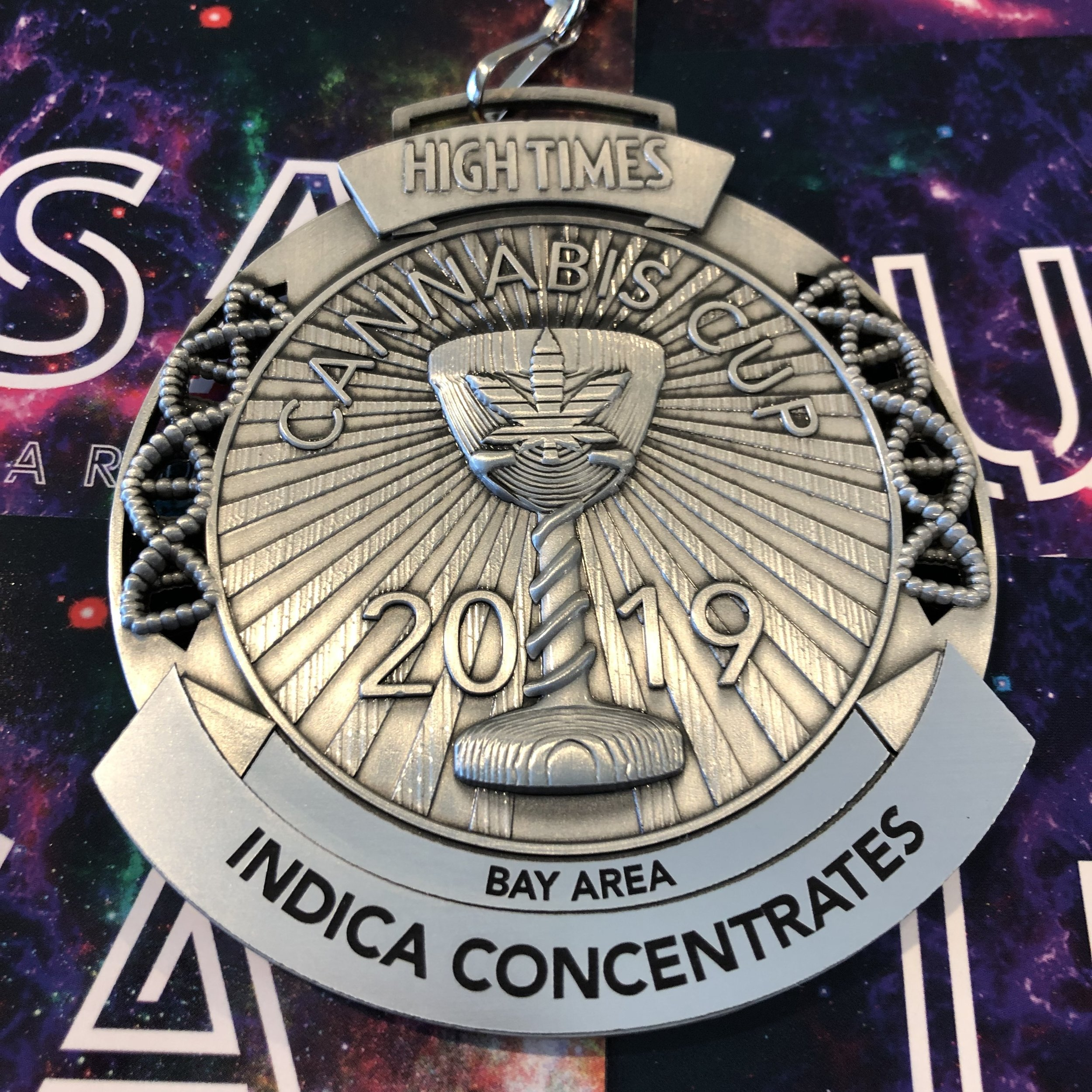 2nd Place HIGHTIMES Bay Area Cup 2019 for our ZKITTLEZ Live Resin.