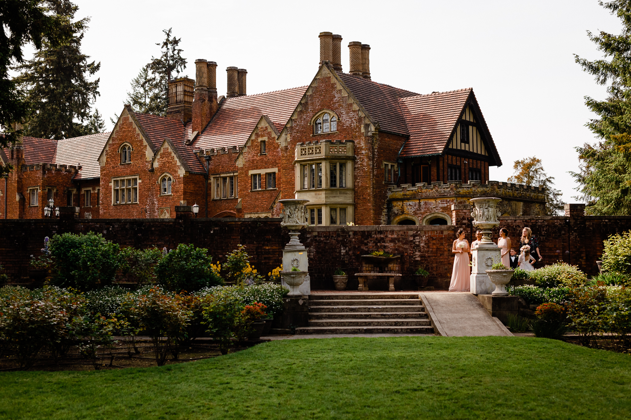Sullivan Wedding at Thornewood Castle in Lakewood, WA