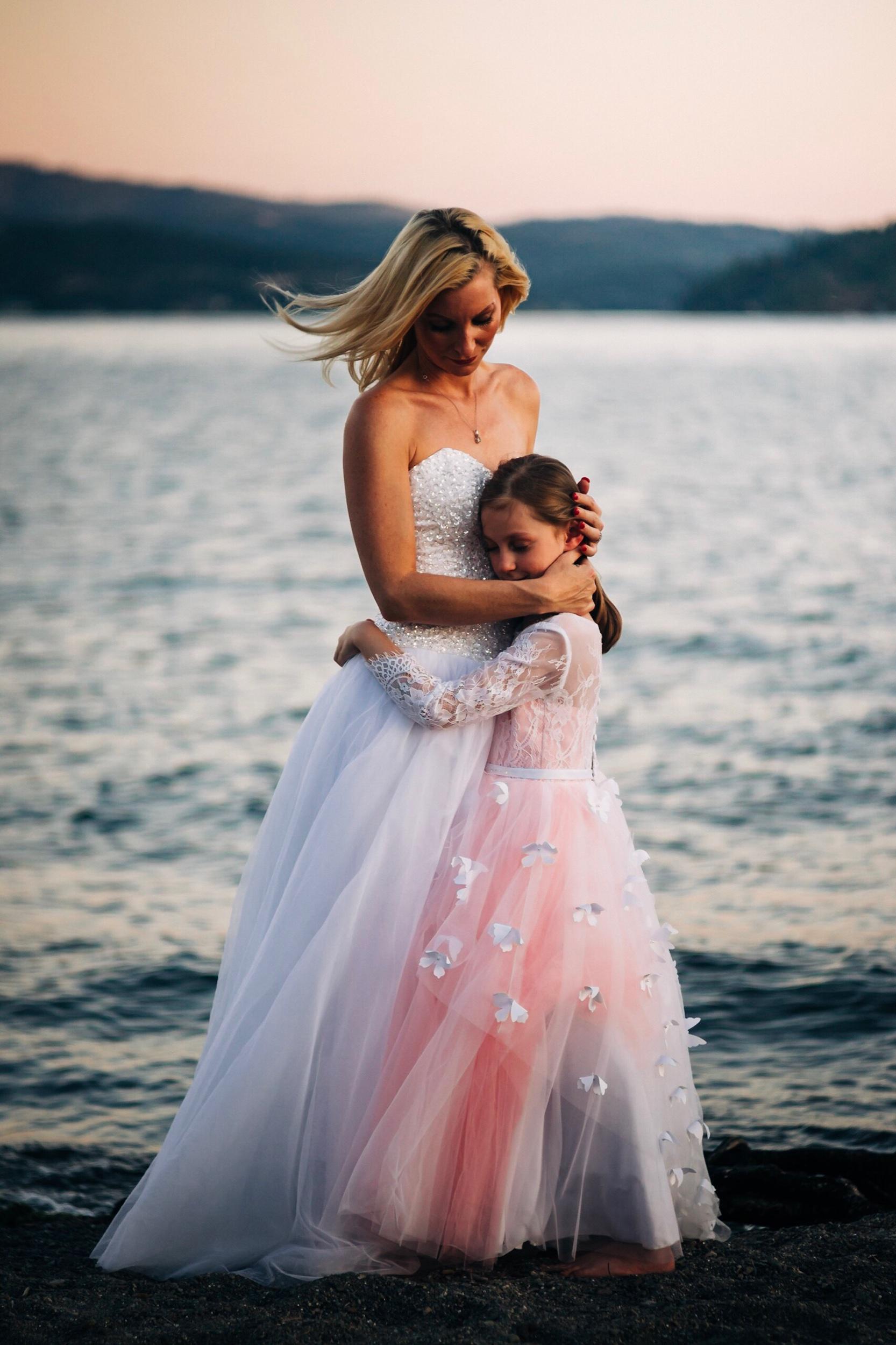 Mother & Daughter Coeur d'Alene, Idaho