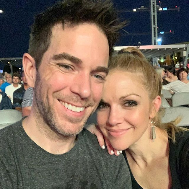 With this girl at @rascalflatts - there's probably real-time BTS footage on her Corri Story ( @corrilee )