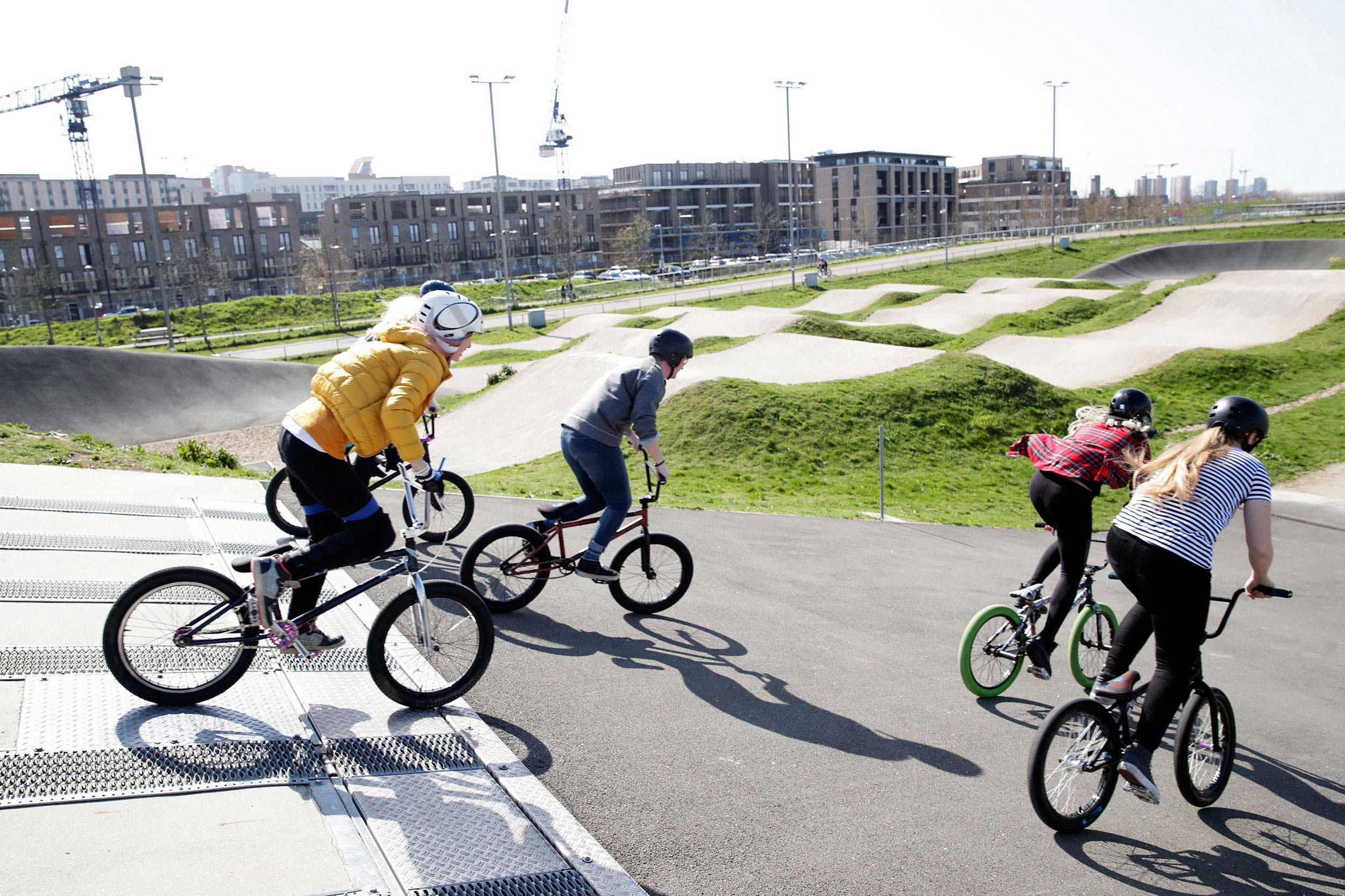 BMX girls in London