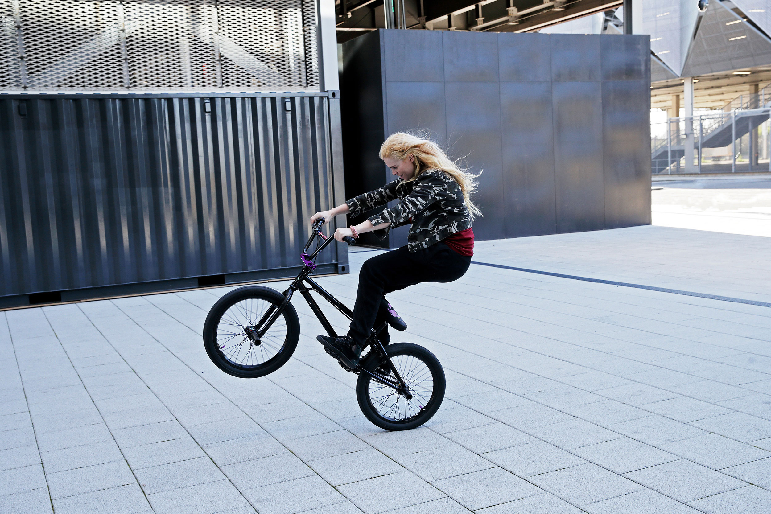 Lifestyle photography BMX girls