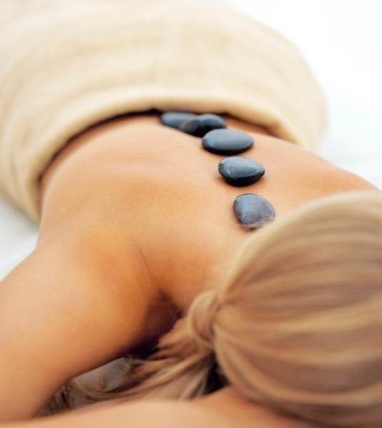 Hot Stone - For this kind of massage, the therapist places warmed stones on certain areas of the body, such as acupressure points. The stones may be used as massage tools or be temporarily left in place. Used along with other massage techniques, hot stones can be quite soothing and relaxing as they transmit heat deep into the body.30 Min: $60 | 60 Min: $90 | 90 Min: $135