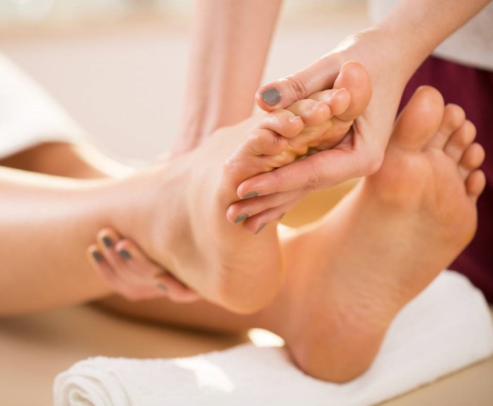 Reflexology - Reflexology uses hand, thumb, and finger techniques to stimulate certain areas of the feet. These areas are believed to correspond to different parts of the body. The massage, then, is expected to promote health and well-being30 Min: $60 | 60 Min: $90 | 90 Min: $135