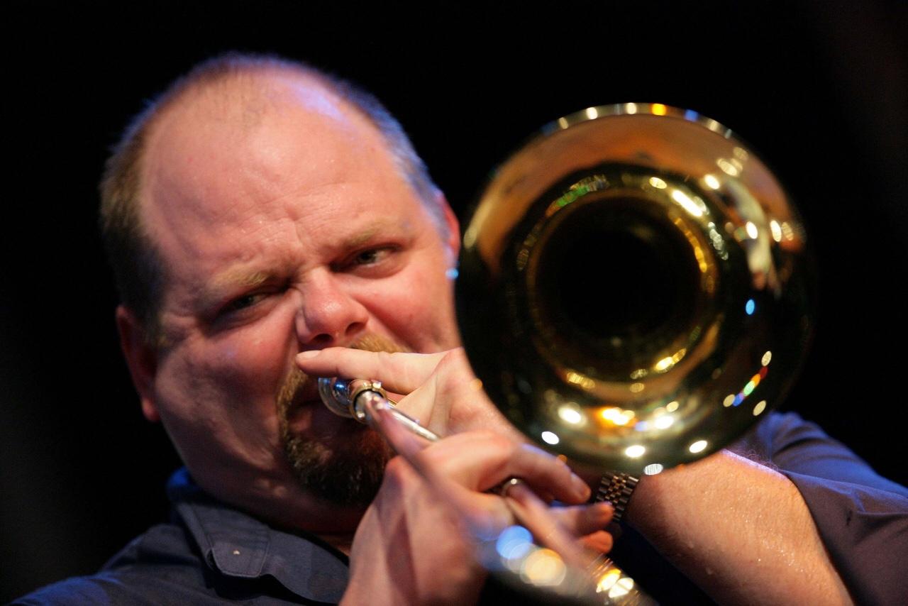 Trombonist John Allred.