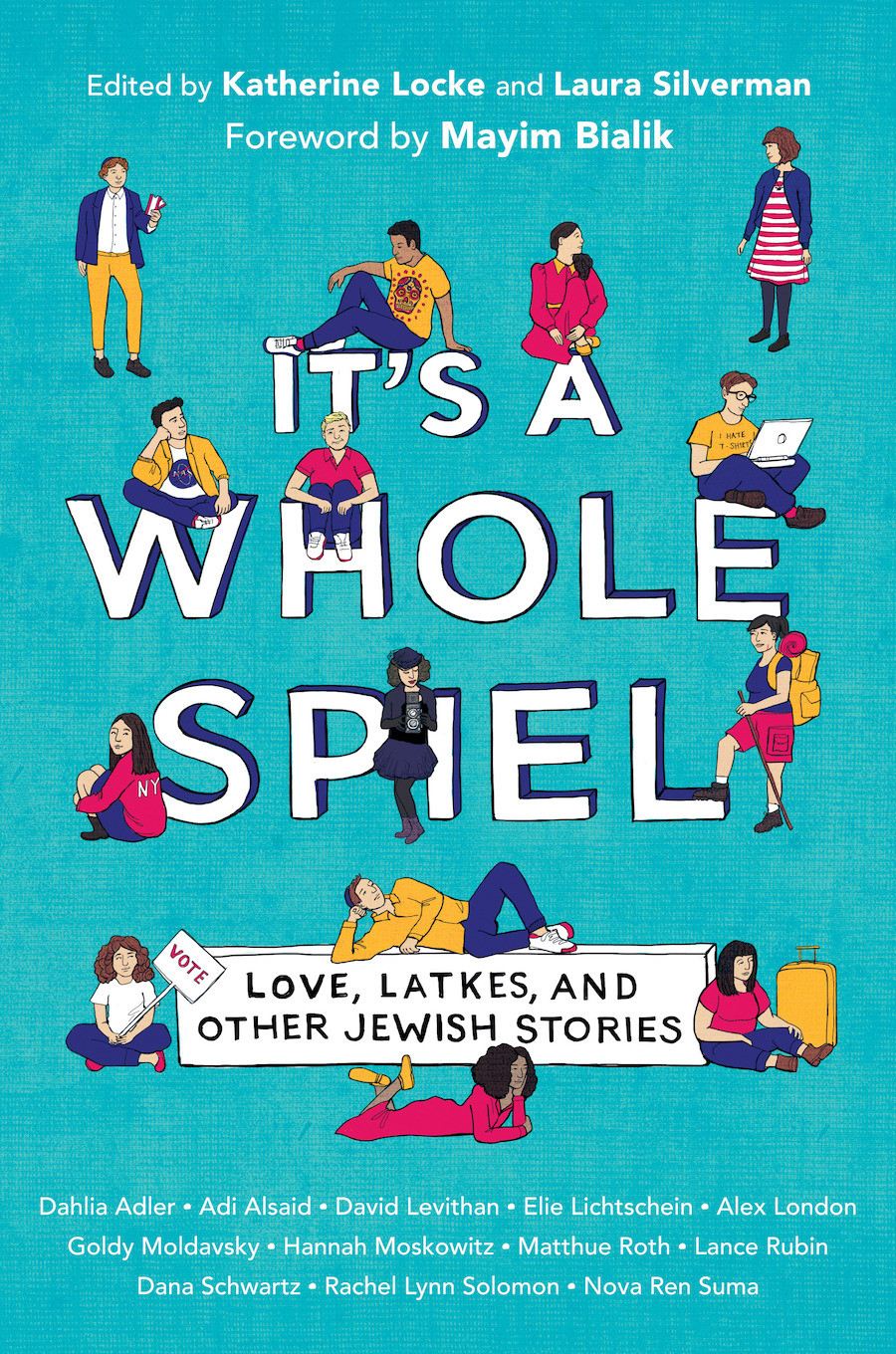 Copy of It's A While Speil: Love, Latkes, and Other Jewish Stories