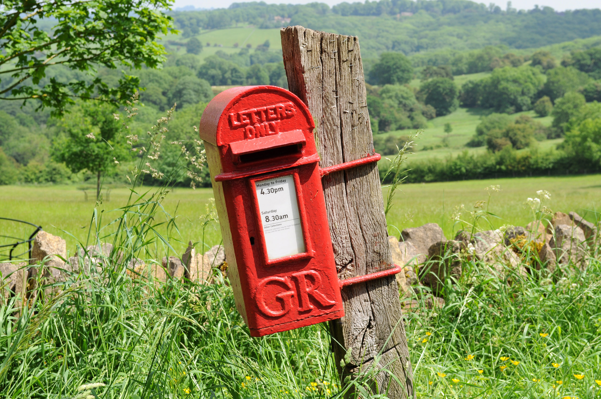 Mailbox in English countryside of Cotswolds.jpg