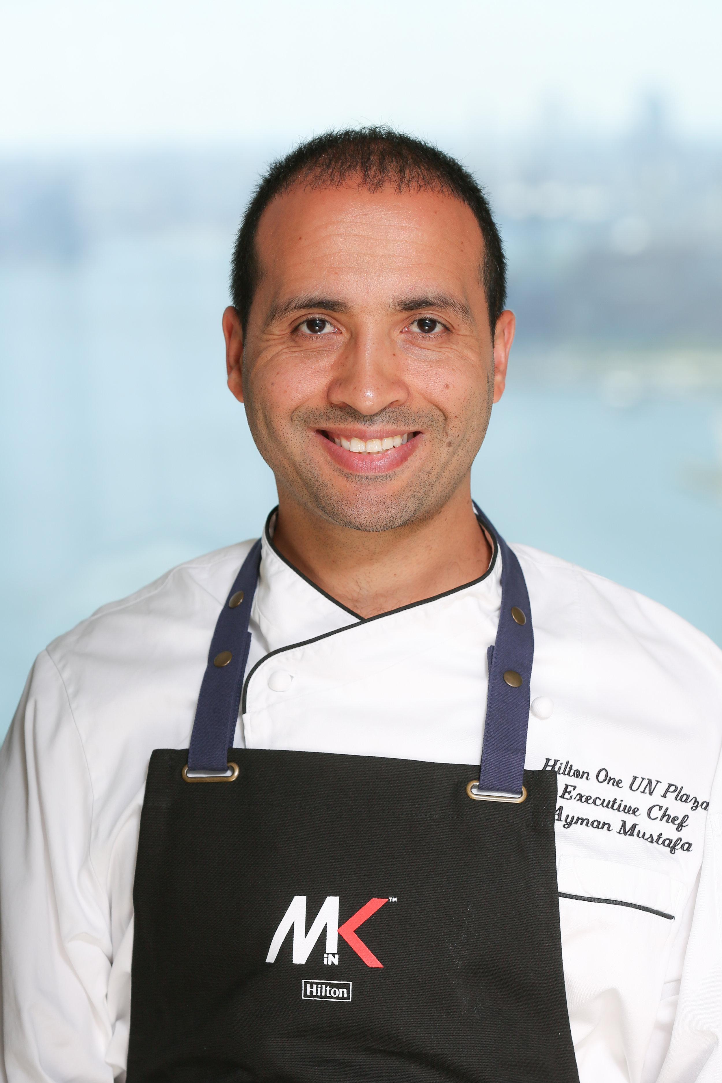 Ambassador Grill Chef Ayman Mustafa.JPG