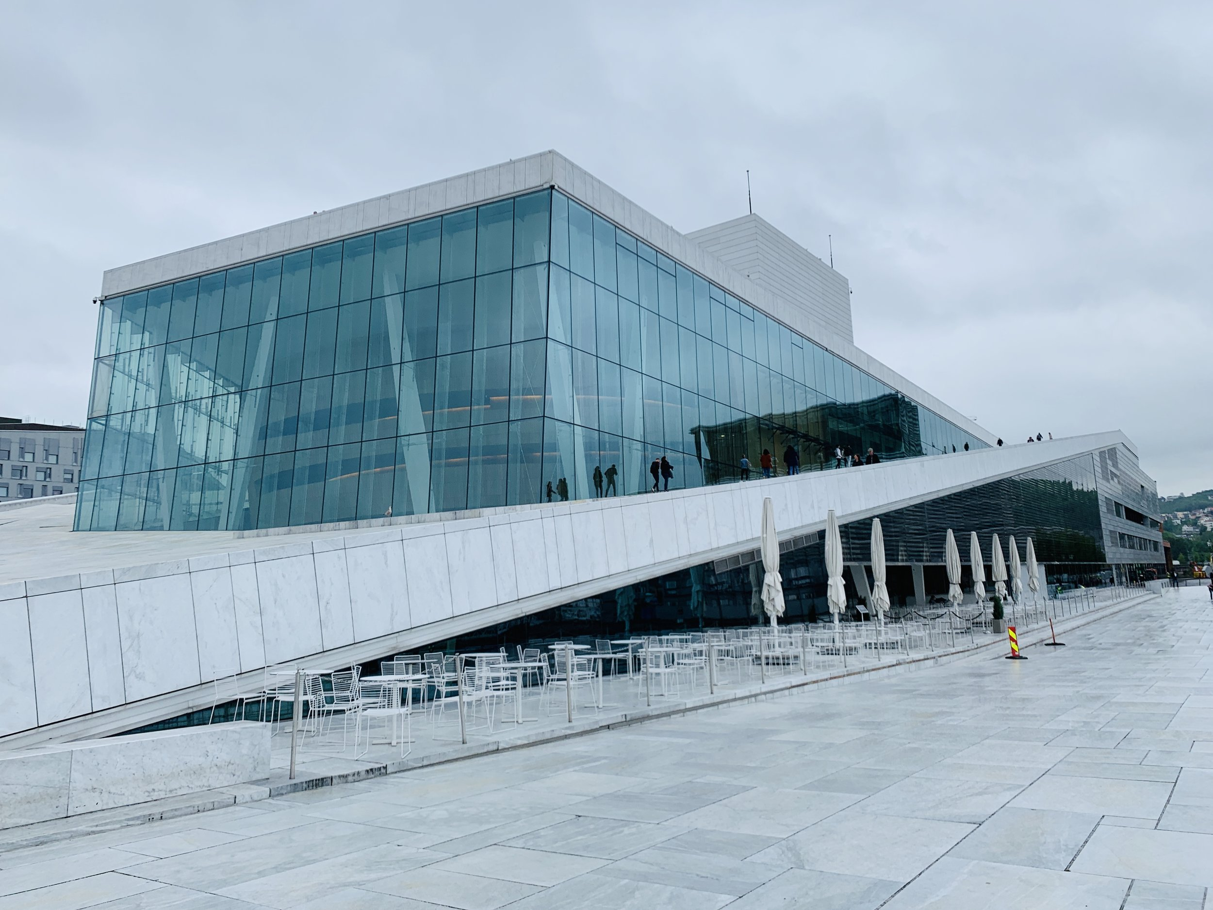 Oslo Opera House: glacier inspired architecture