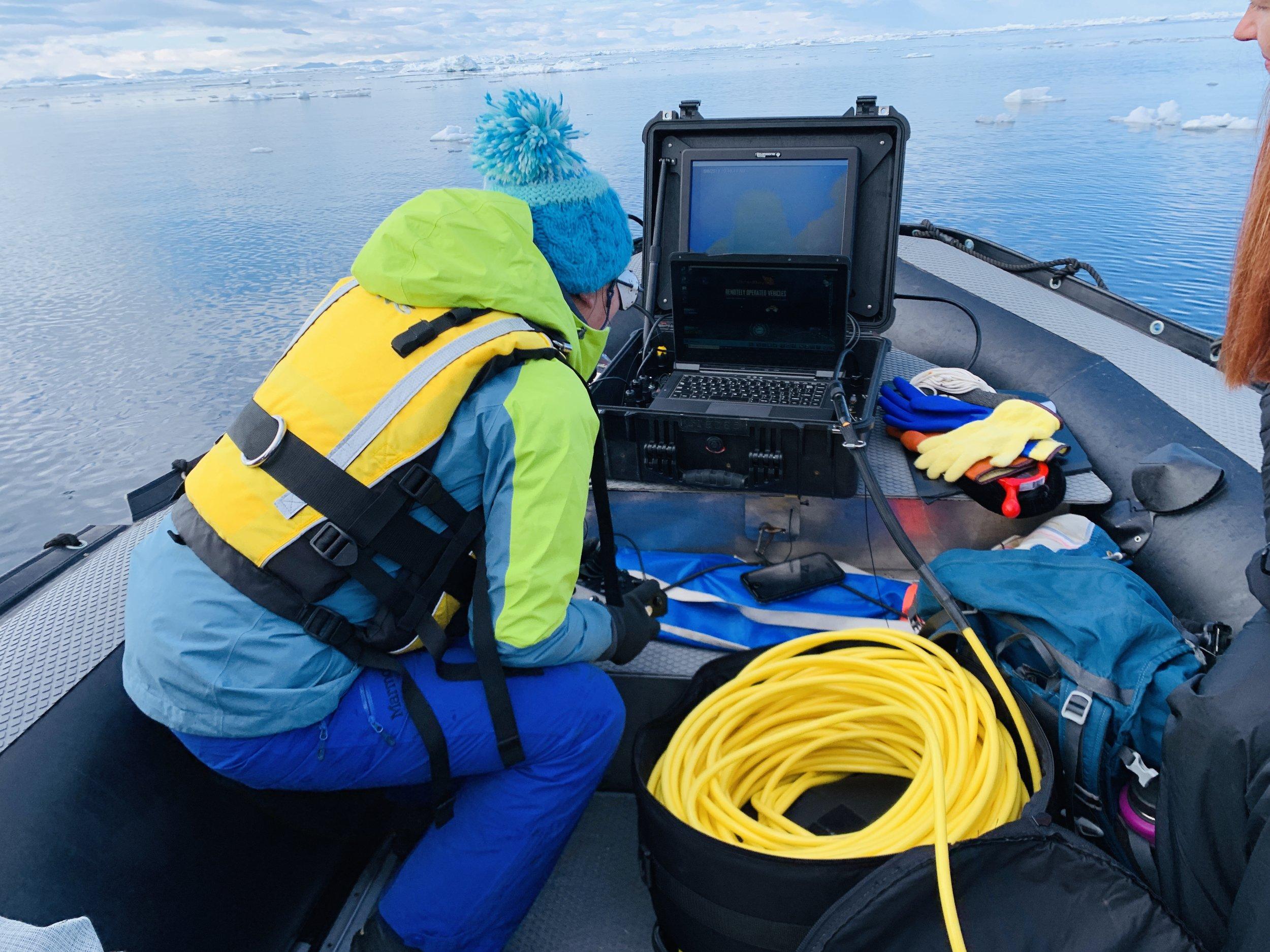 Warmouth_Underwater ROV camera on zodiac.jpg