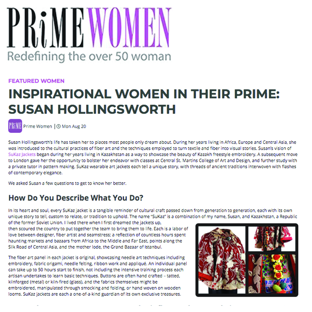 Prime Women - Click Through To Read