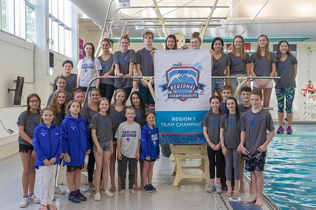 2019 USA Diving Region 1 Champions -