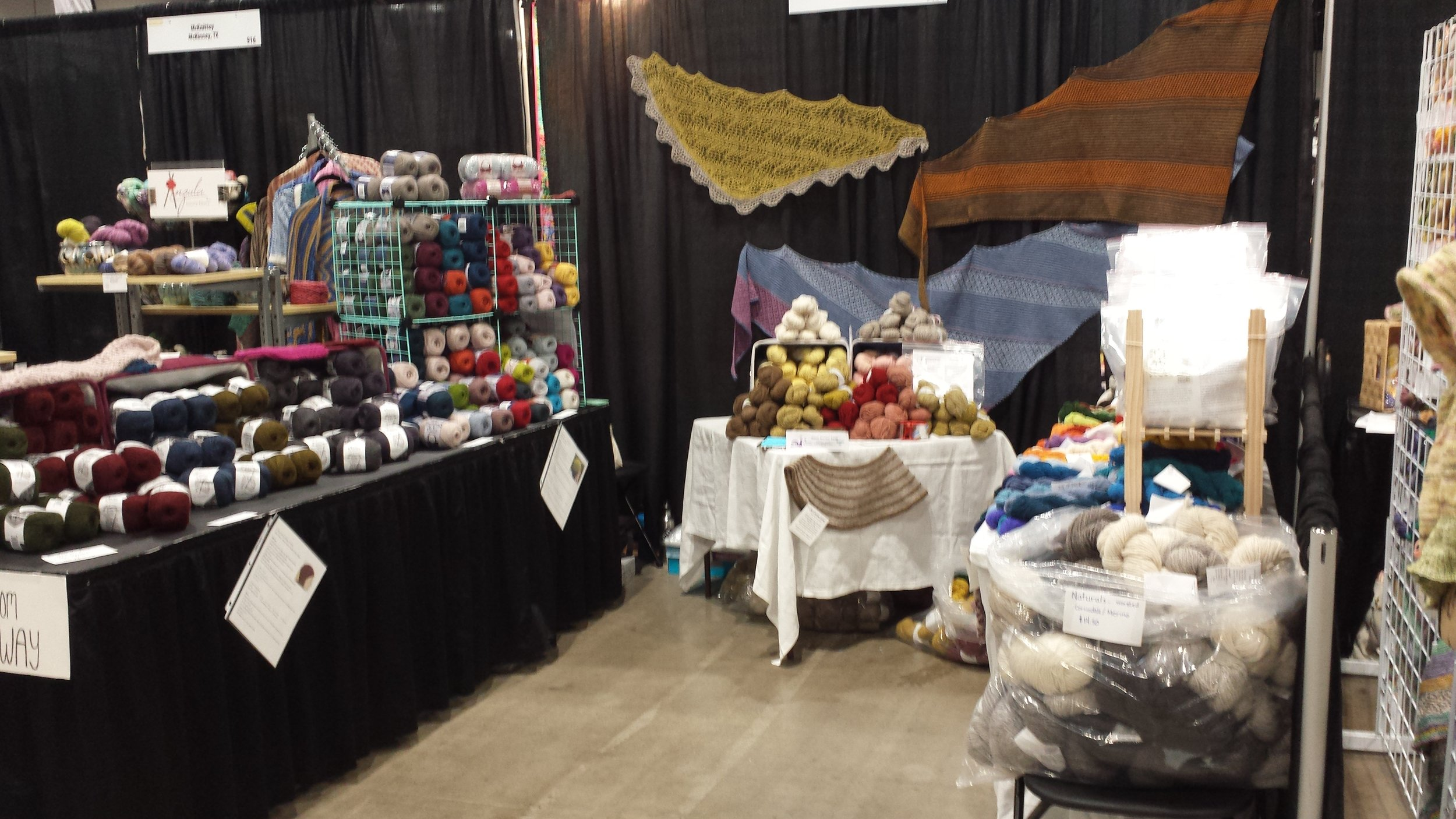 Out Booth at Stitches Midwest