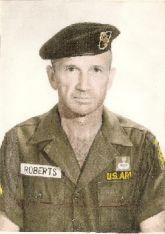 """Sgt. Maj. Elmer L. """"Robbie"""" Roberts Sr. - WWII Korea, VietnamSpecial Forces Green Beret"""