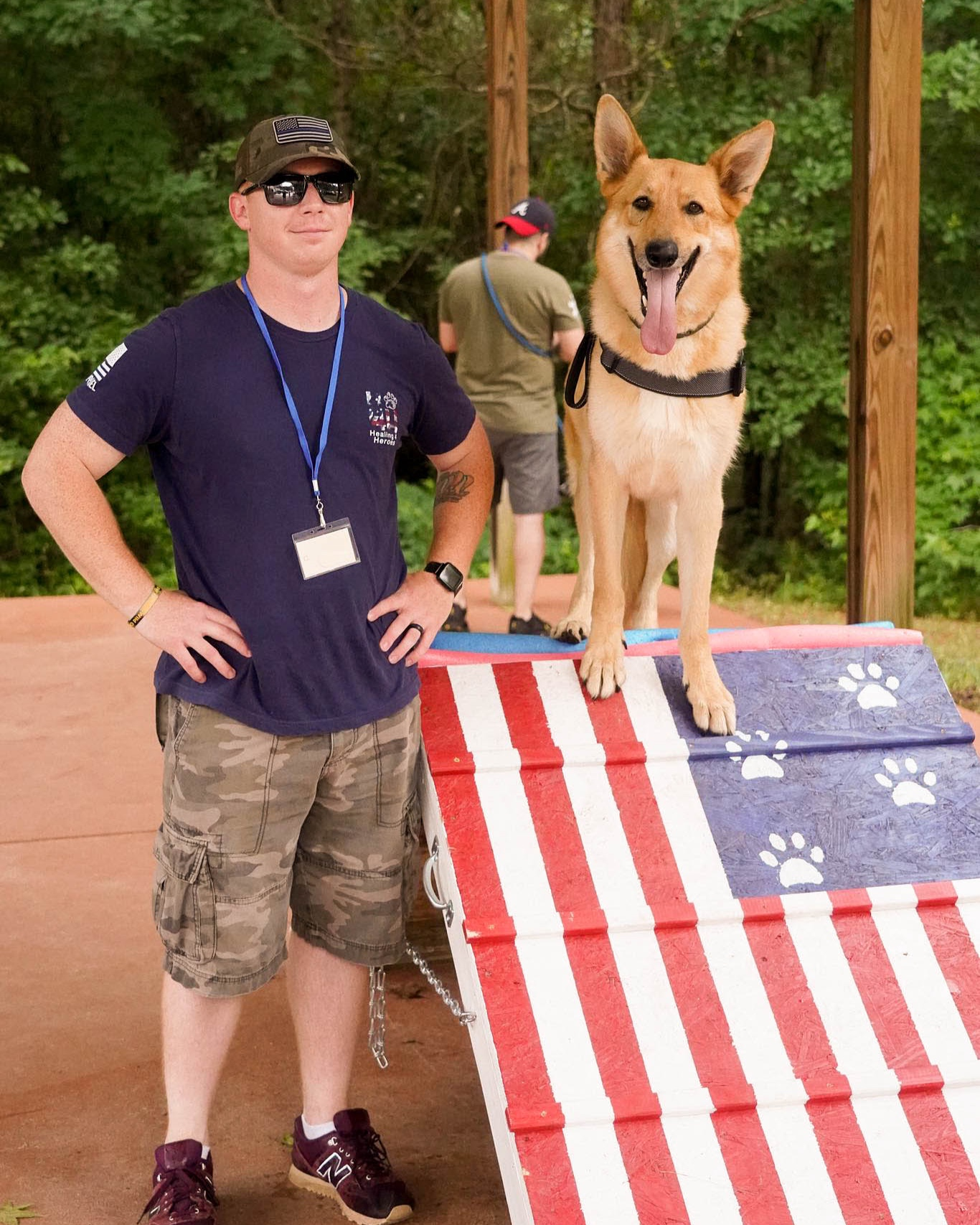 Our mission - Healing4Heroes™ is a 501(c)(3) non-profit organization dedicated to assisting our military service members and veterans lead healthy, productive lives. Our objective is to connect wounded service members, as well as those with Post Traumatic Stress Disorder and Traumatic Brain Injury, with A.D.A. compliant service dogs.