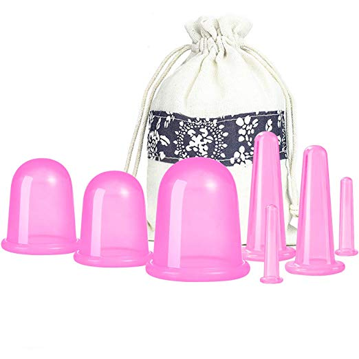 tension tamer (MYOFASCIAL CUPPING SET #2) - Another kind of soft (myofascial) cupping set that is great to have on hand. This set includes beauty cups (for your face) and is a little easier to use one-handed. Both are great to have!
