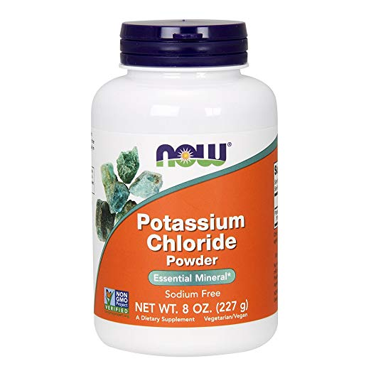 """hydrate & replenish #2 - This is the """"no salt"""" powder version of the potassium chloride pill, which helps to keep your body's electrolyte balance. Can be mixed with or in place of regular table salt. It's very """"salty"""" tasting, so go easy :)."""