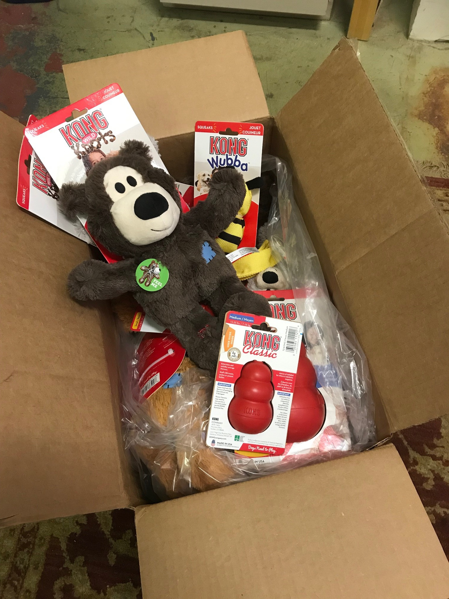 From the kings of Kong… thanks Kong Co.!