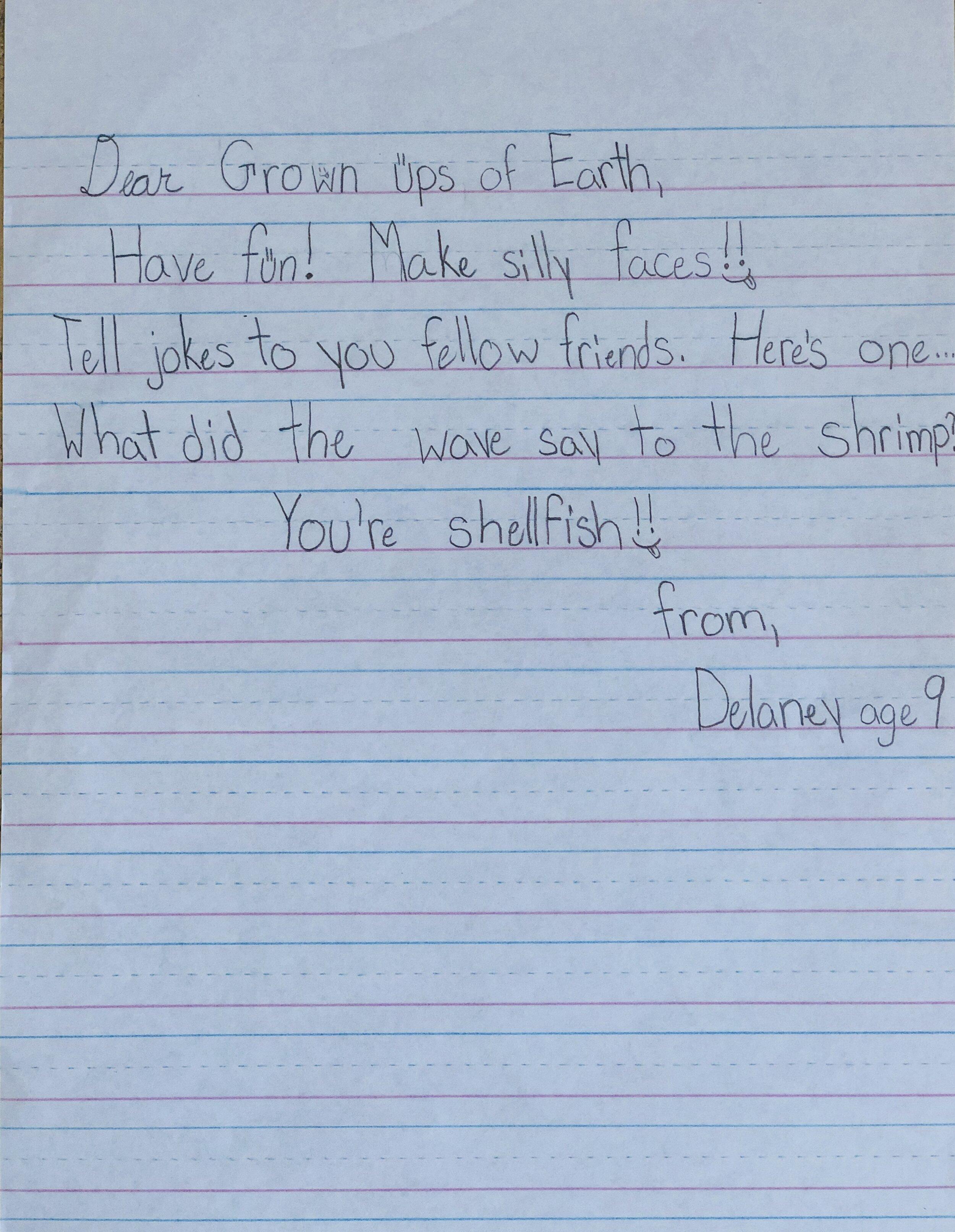 Delaney - Age 9 - Los Angeles