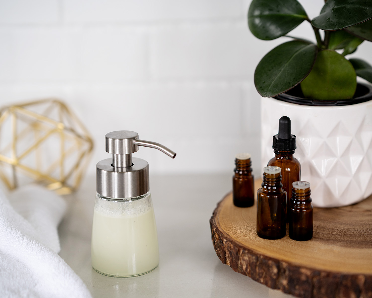 Homemade Foaming Hand Soap — pure bloom