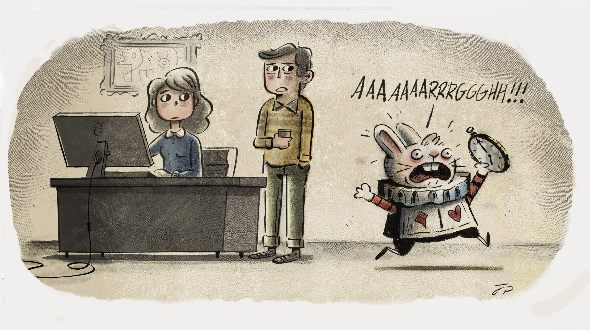 Illustration by    Justin Parpan
