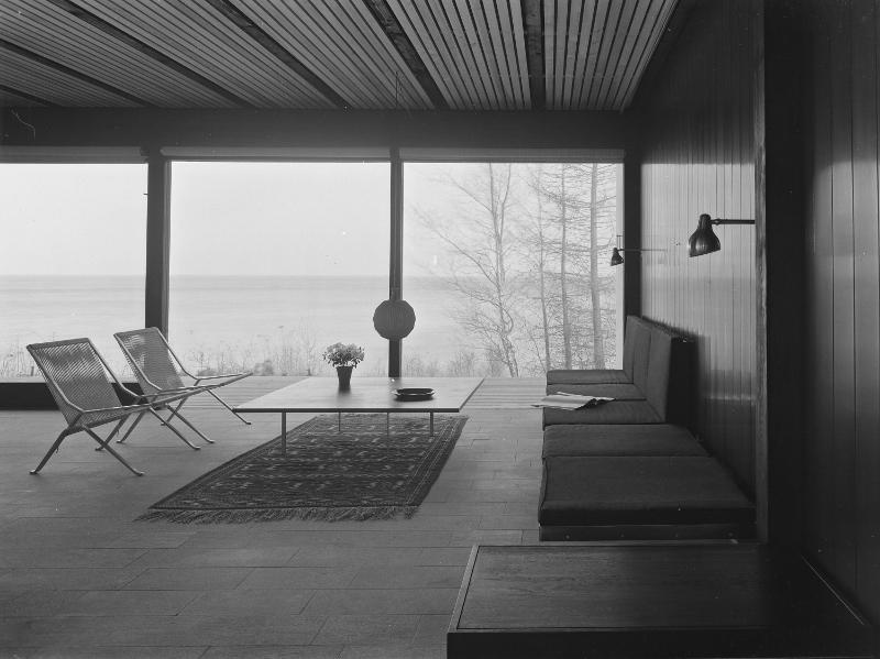 Halldor Gunnløgssons eget hus på Rungsted Strandvej, photo: privat