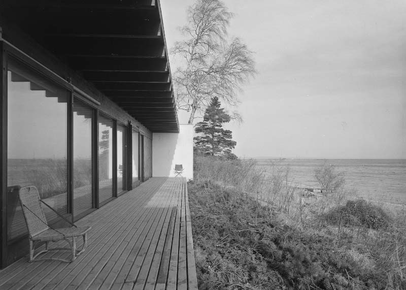 Copy of Gunnløgssons eget hus, Rungsted, 1958. Foto: Keld Helmer-Petersen