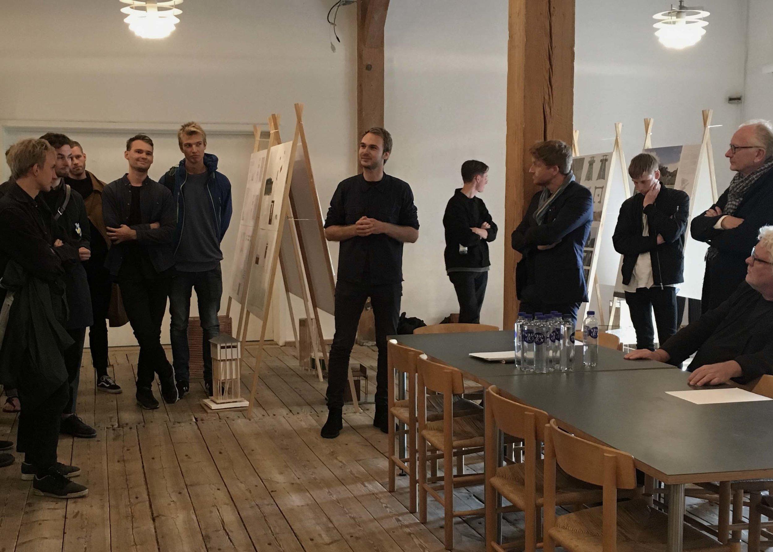 Sebastian Skovsted fra Johansen Skovsted Arkitekter, dette års opgavestillere