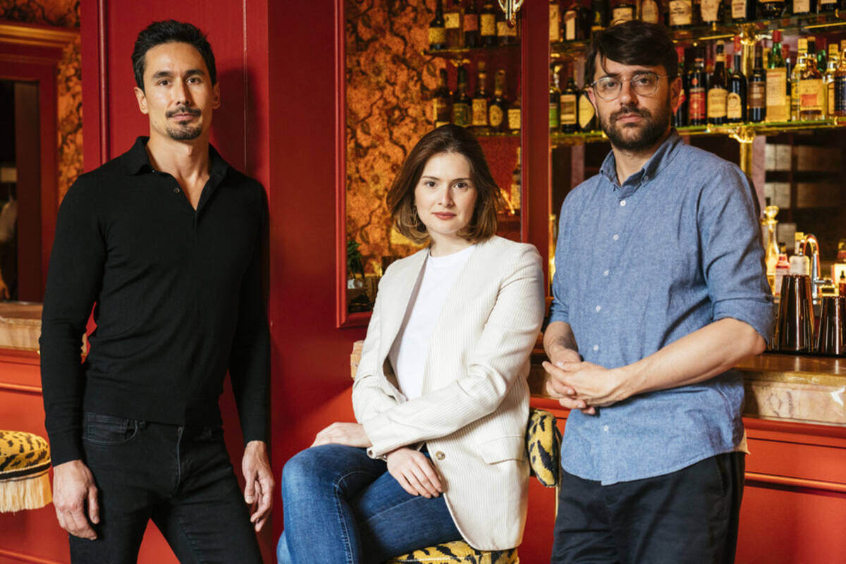 Adam Tsou, Carina Soto Velasquez and Joshua Fontaine of Quixotic Projects
