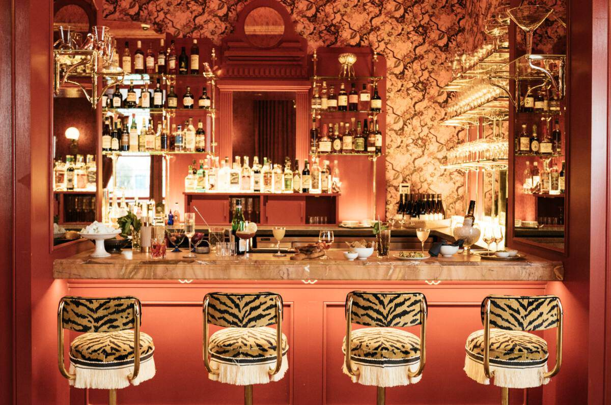 The Bar at Bar Marilou at Maison De La Luz