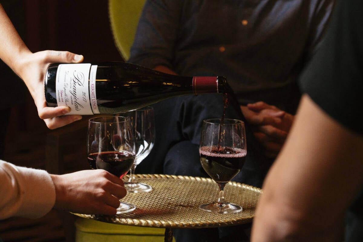 Vins Au Verre at Bar Marilou