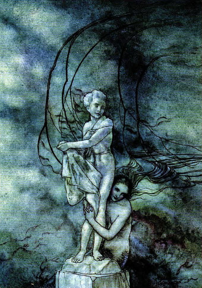 Ilustración de Arthur Rackham