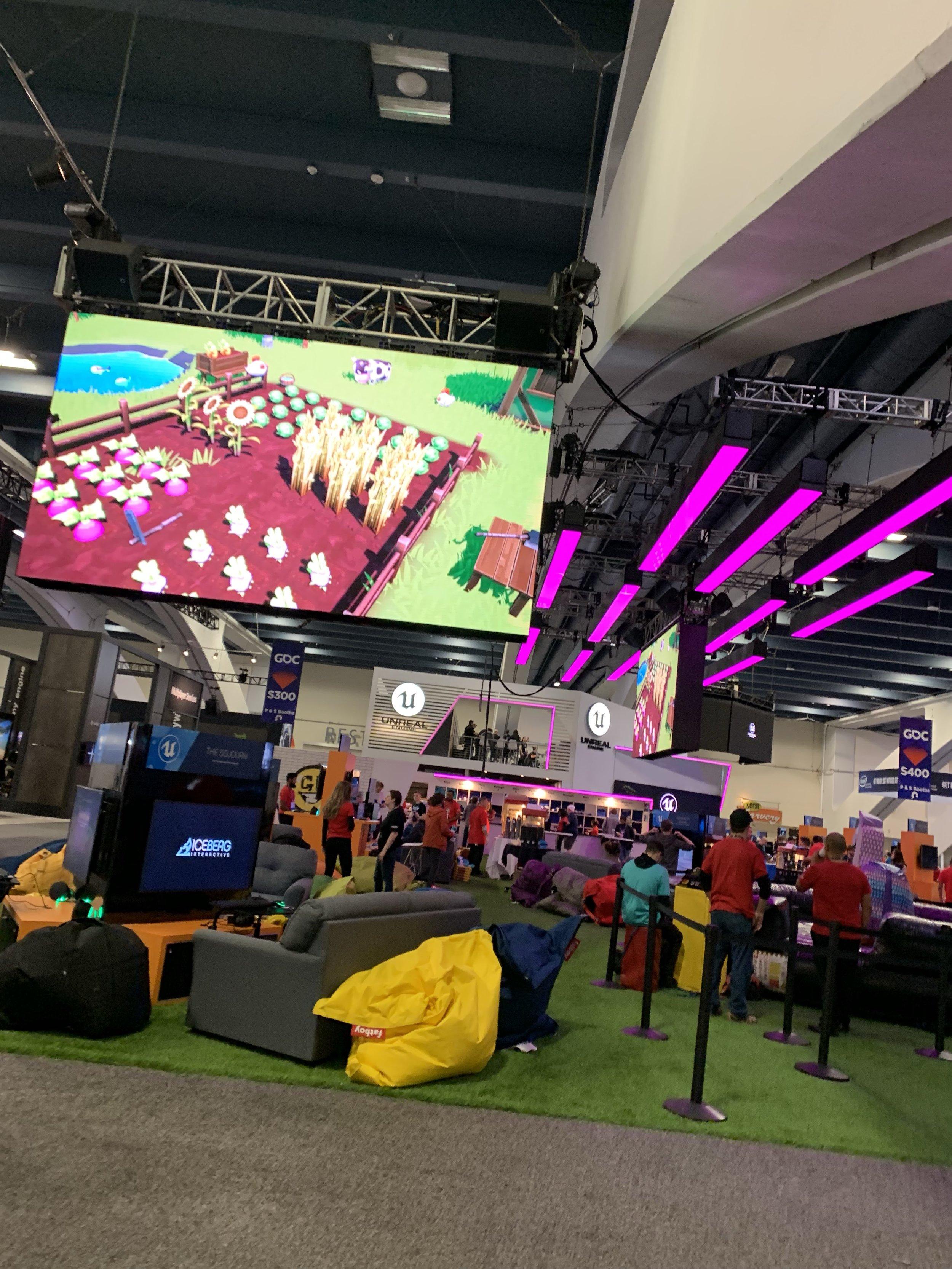Farm Folks was on the big screen at GDC 2019