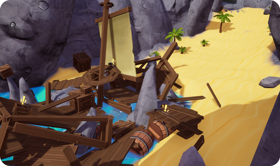 farm folks quest quests questing system pirate ship mission washed up on the beach
