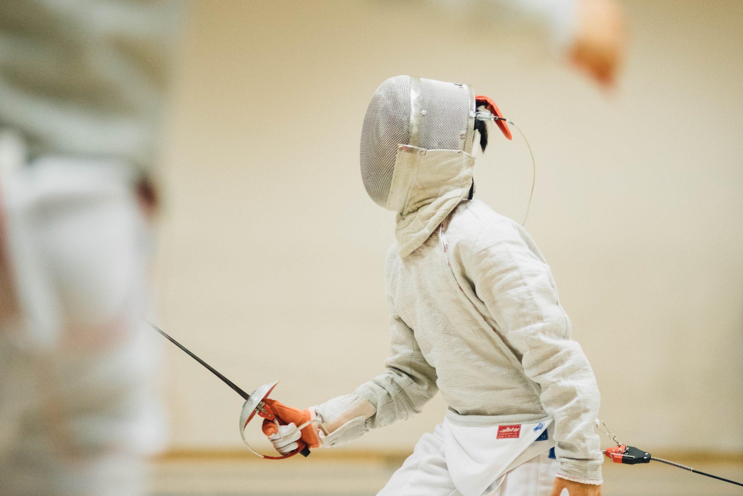 fencing in pentathalon uk