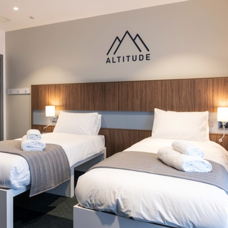 Elite Athlete Centre and Hotel - There is a new hotel, that has opened in Loughborough in the grounds of the University, that does more than just provide food and a bed. It also helps athletes to train and perform better.