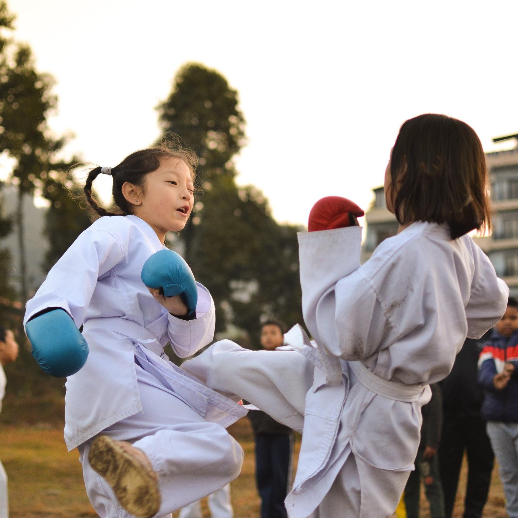kick boxing -