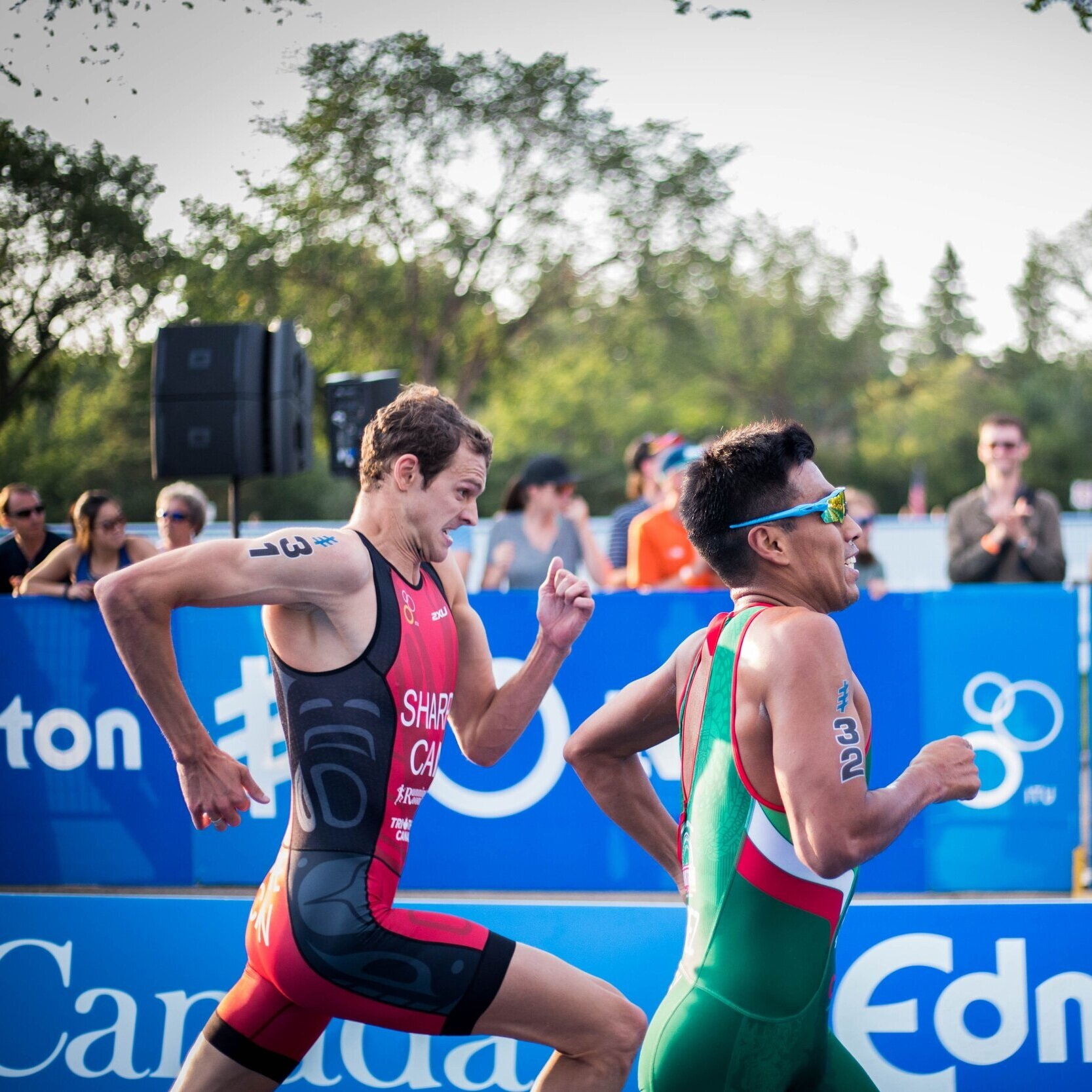 triathlon - Triathlon is swimming, cycling and running put together one after another as a single race event.Next year it's the A J Bell World Triathlon in Leeds.