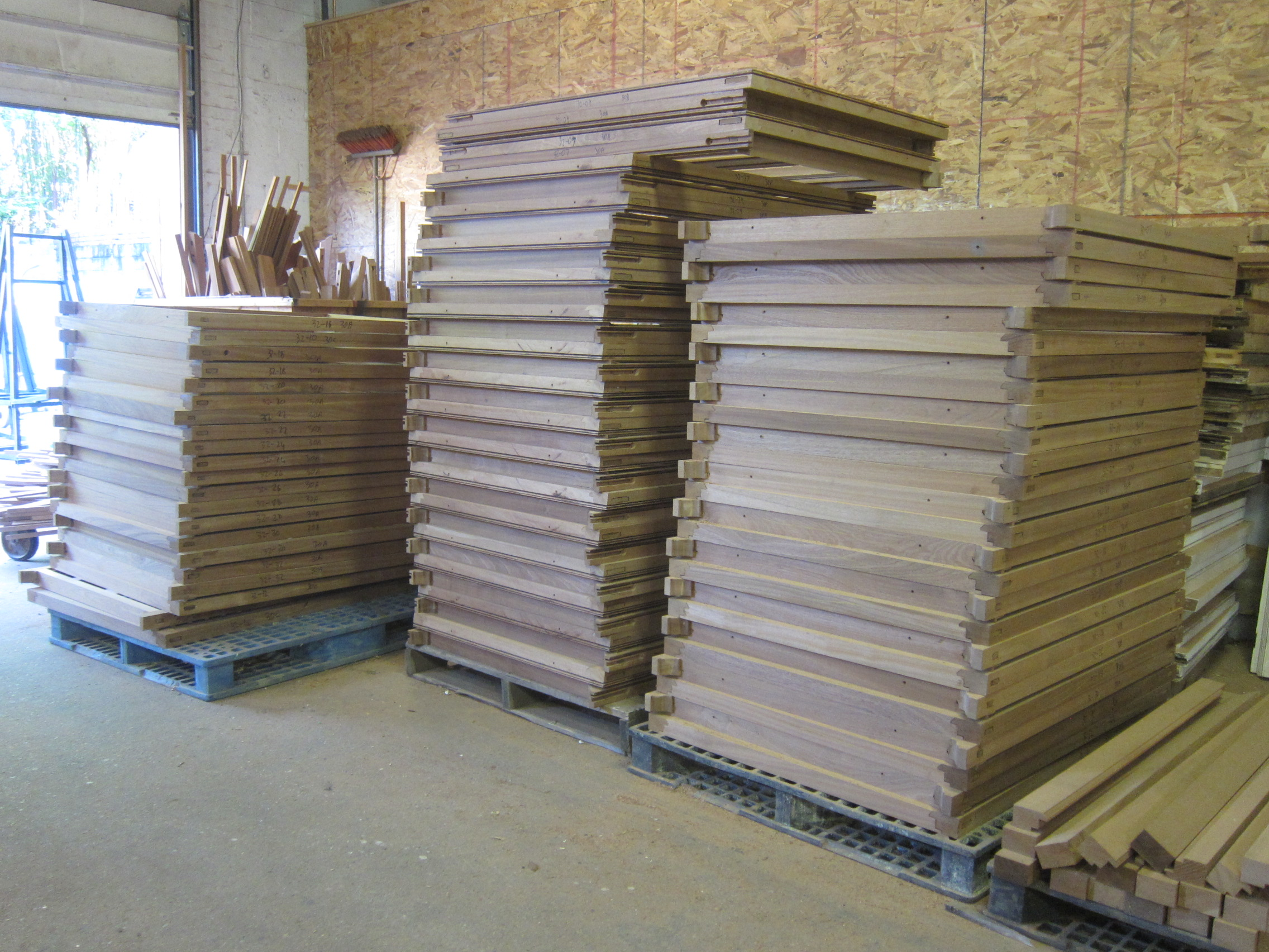 We produced 3600 sash like these, all bottom sash were made operable.