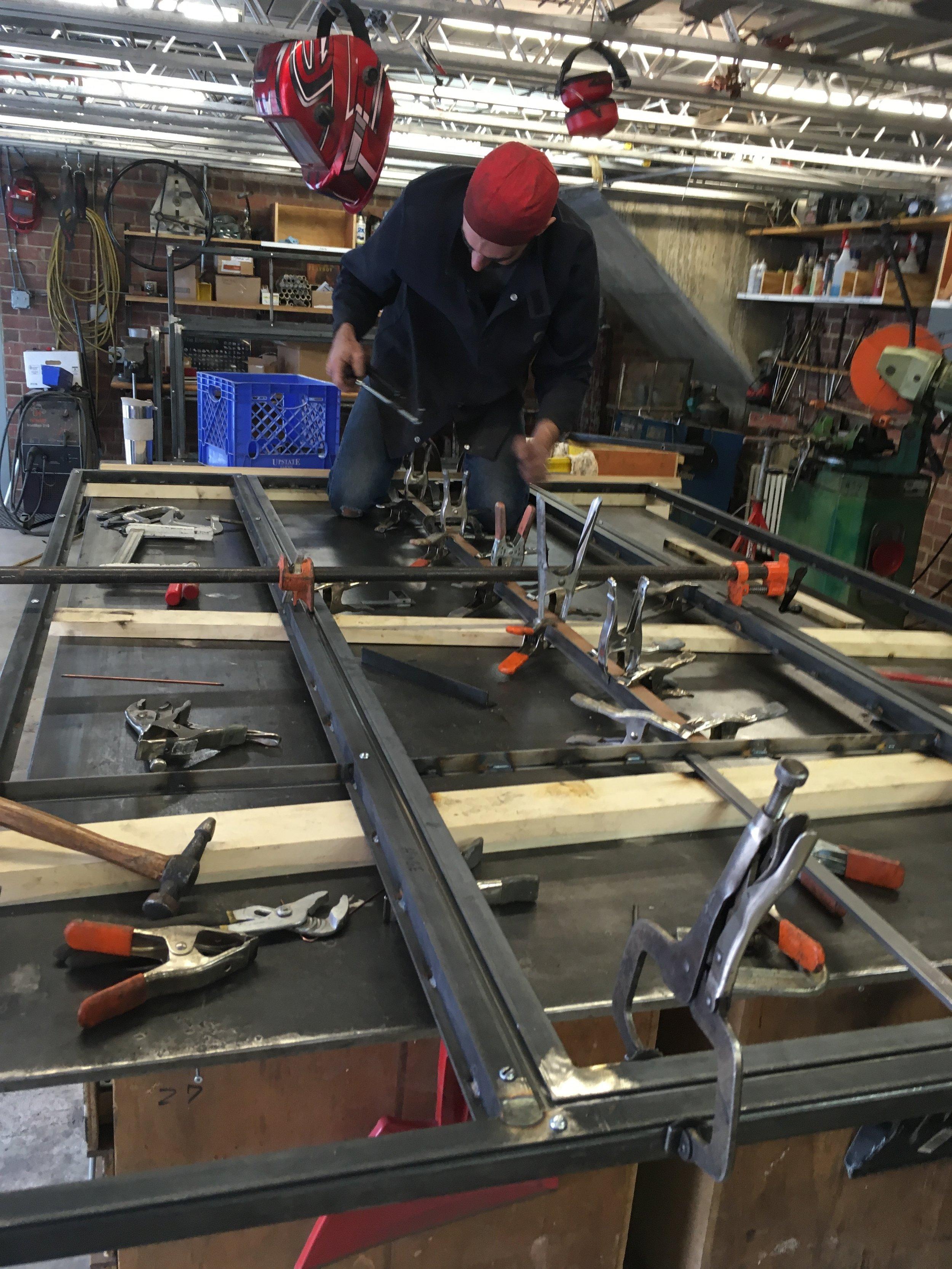 Steel Door Reproduction