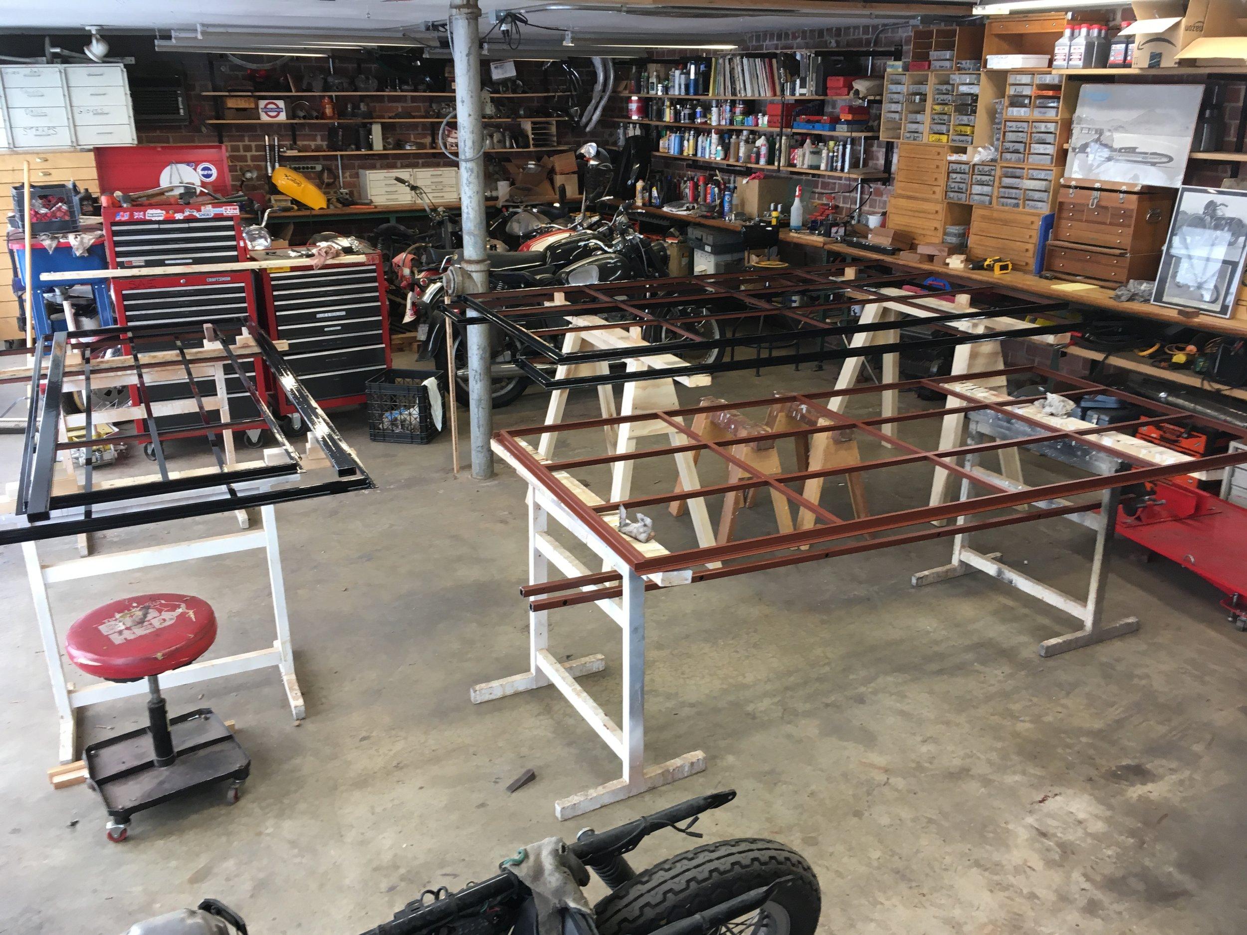 Steel Component Preparation