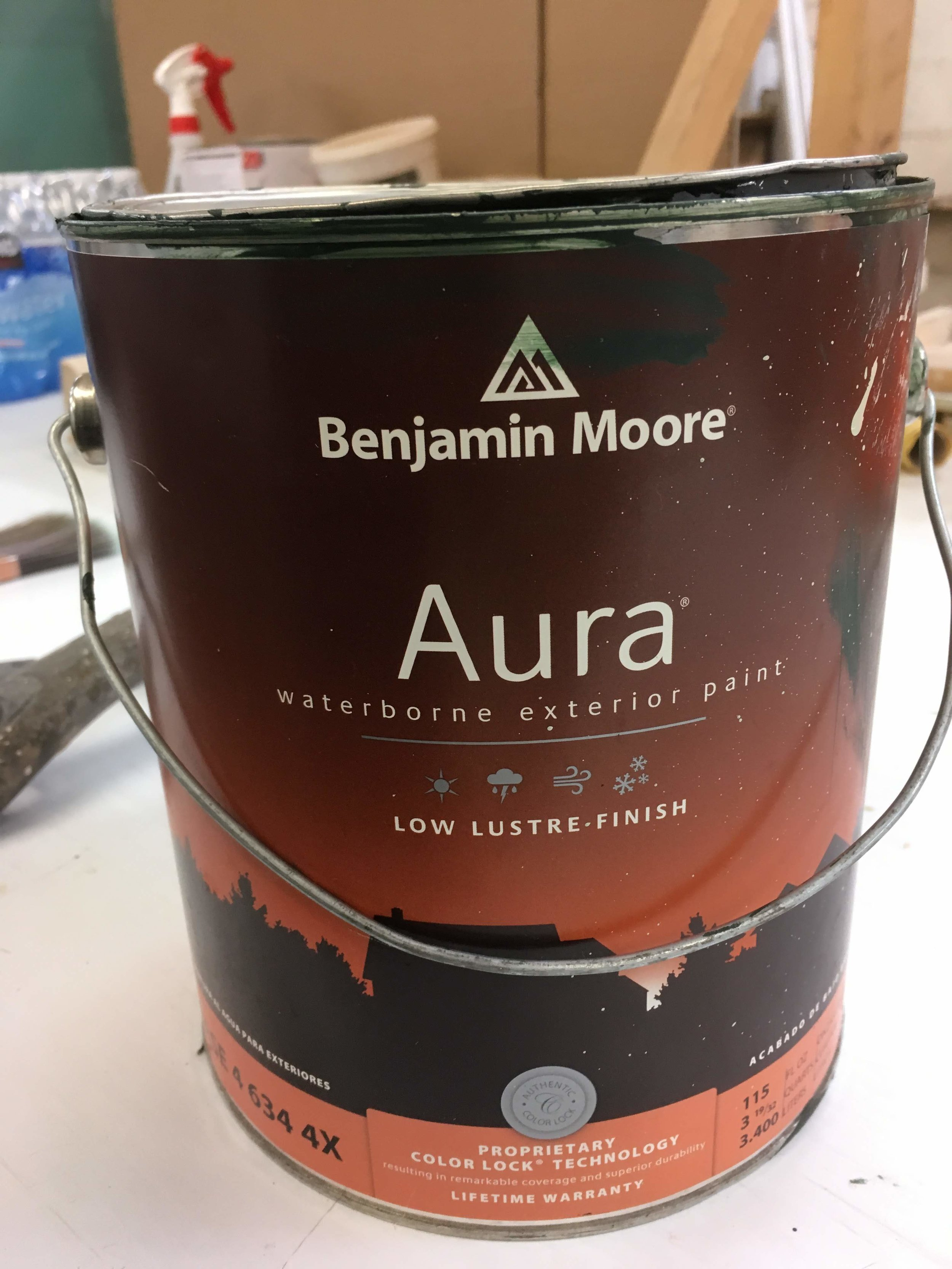 My Benjamin Moore rep says this is the best paint they've ever made, and we agree.  Expensive and worth it, high-bond, color retention, and most important for operable wooden windows, a surface tension higher than most other acrylic paints.