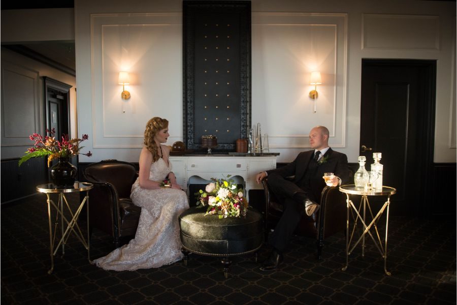 Montana Bride - Styled Shoot at The Petroleum Club