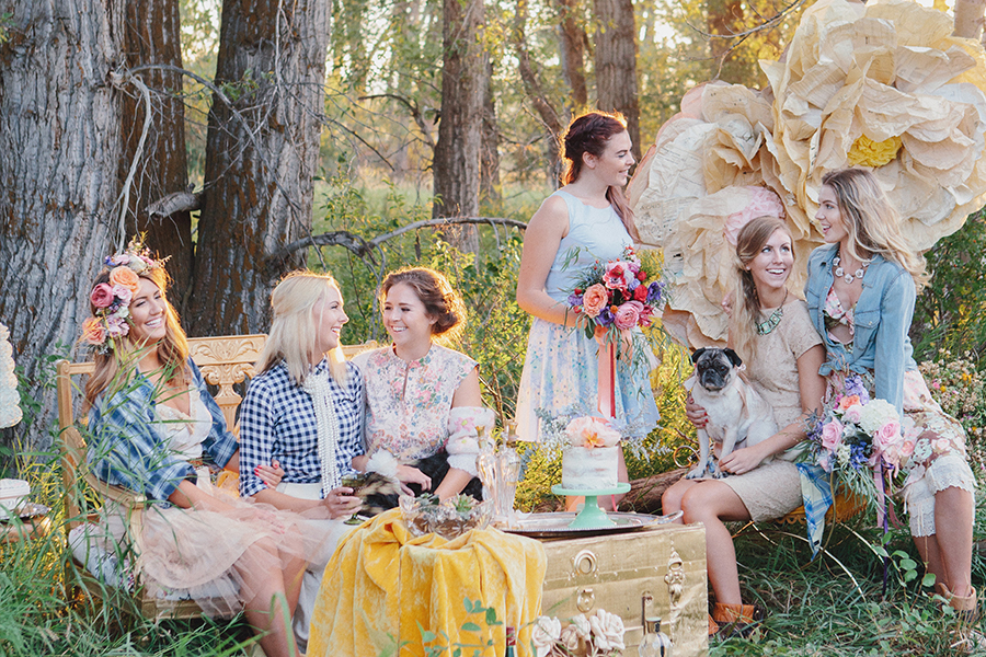 Rocky Mountain Bride - Editorial Shoot at Baxter Ranch