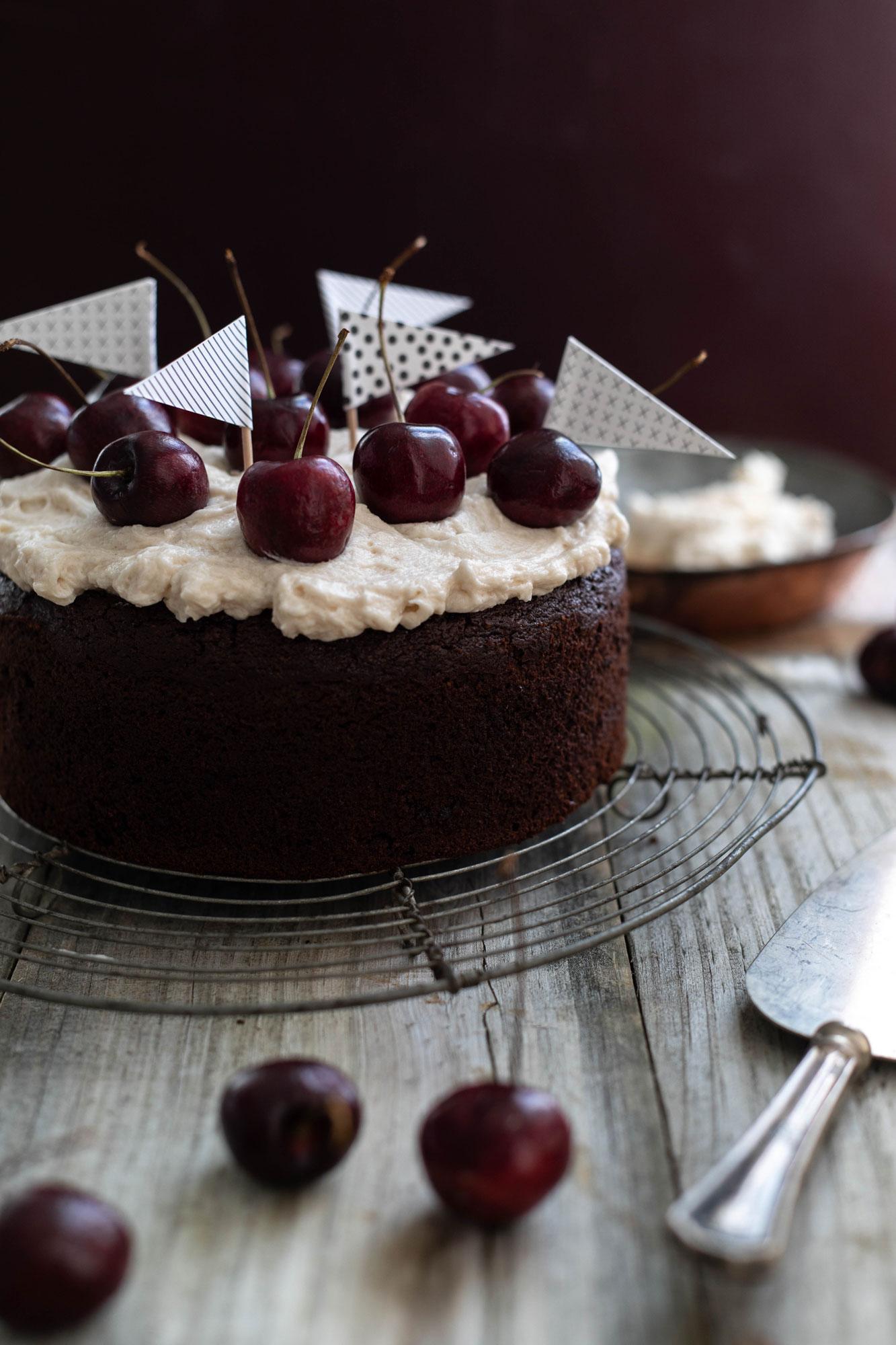 gluten free black forest cake